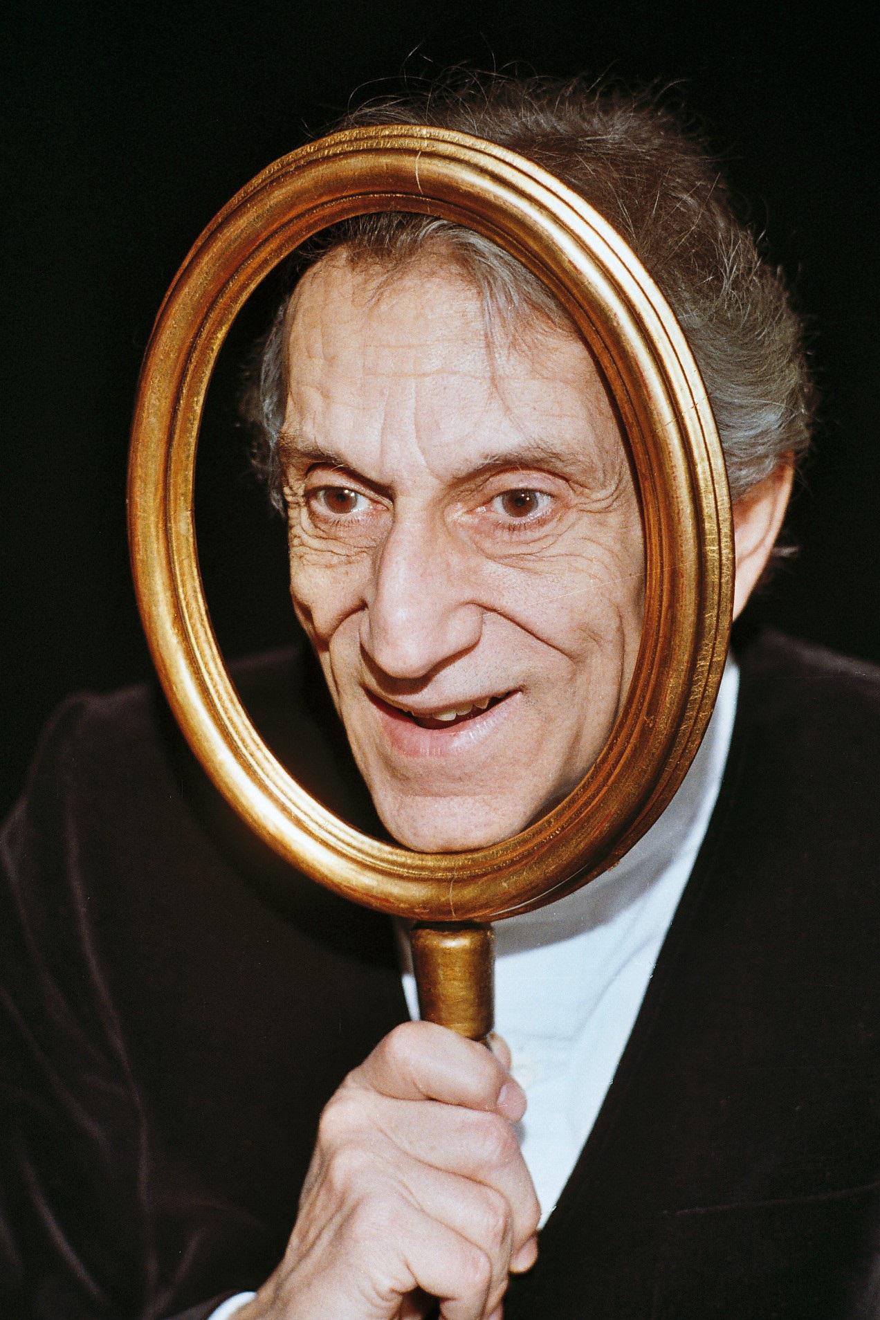 Roberto Herlitzka in Ex Amleto al Brancaccino di Roma