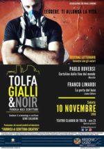 """Festival """"Tolfa Gialli&Noir-Parola agli Scrittori"""": in arrivo la VII edizione"""