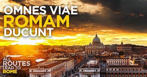 All Routes Lead to Rome, Appia Antica, Europa, Sentiero Pasolini, Ostia Antica e NikolaosRoute
