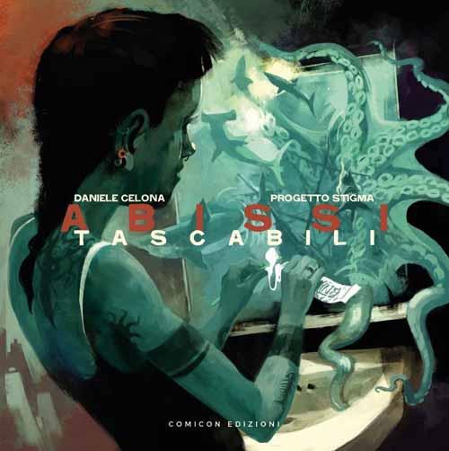 Daniele Celona in concerto al Diavolo Rosso di Asti per presentare live i brani del nuovo disco a fumetti Abissi Tascabili