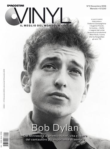 """De Agostini Vinyl, in edicola con una cover story dedicata a Bob Dylan e, """"The Times They're A-Changin'"""" primo vinile della collezione di 33 giri"""