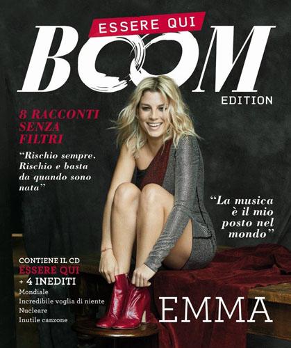 """EMMA, è in uscita """"Essere Qui – B∞M EDITION"""" con brani inediti e in versione deluxe in formato magazine"""