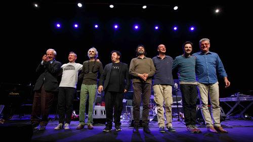 Franco d'Andrea Octet in concerto all'Auditorium Parco della Musica di Roma presenta Intervals I e II