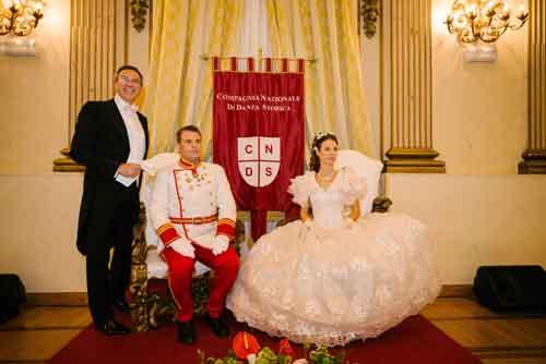 Gran Ballo di Sissi, l'omaggio della Città Eterna all'Italia Romantica