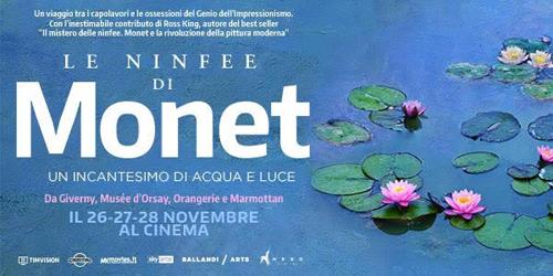 Le Ninfee di Monet un incantesimo di acqua e di luce