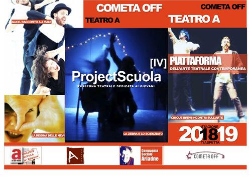 Project Scuola, la rassegna ideata da Valeria Freiberg al Teatro Cometa Off di Roma