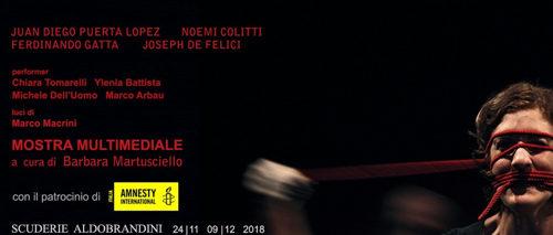 """Mostra Multimediale """"Torture"""" alle Scuderie Aldobrandini di Frascati"""