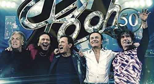 """POOH, esce """"POOH 50 – L'ultimo abbraccio"""", l'album racchiude i 52 brani eseguiti nell'ultimo concerto a Bologna"""