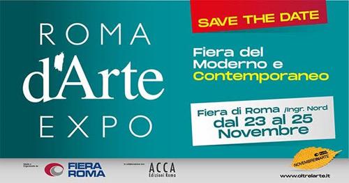 Roma d'Arte Expo nell'ambito di Novembre in Arte