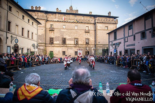Vignanello: ultimo fine settimana della Festa dell'Olio e del Vino Novello all'insegna della Storia
