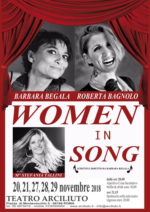 """""""Women in song"""" al Teatro Arciliuto di Roma"""