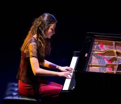 Concert Zala Kravos, récital de piano