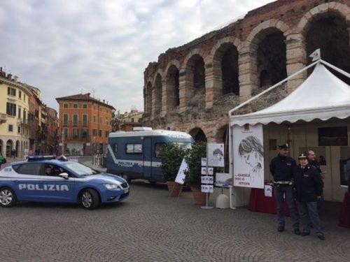 La presentazione del Villaggio Azzurro della Polizia di Stato a Verona