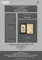 1918-1940. La storia non guarda gli uomini, il libro di Domenico Carella