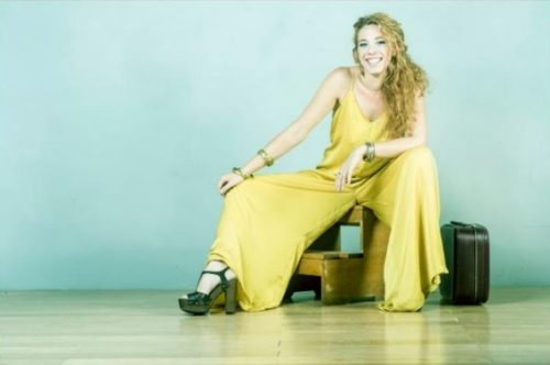 Agnese Valle in band a L'Asino che vola di Roma