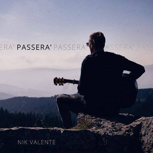 Passerà, il singolo di Nik Valente è uscita in occasione del centenario della fine della Prima Guerra Mondiale