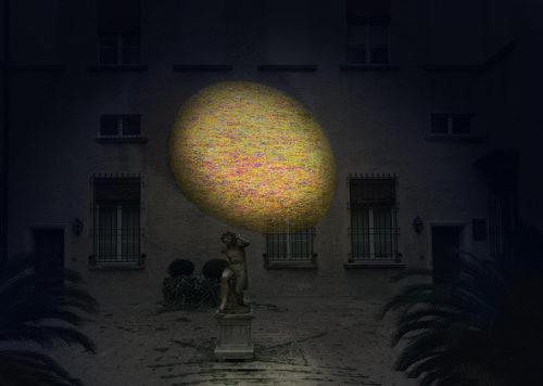 EosEco, l'installazione di Giorgio Bevignani