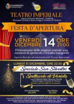 Nuova vita per il Teatro Imperiale di Guidonia Montecelio. Festa di apertura stagione