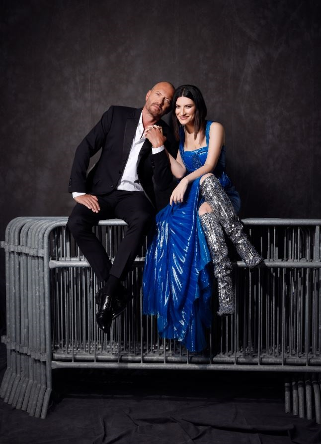 Laura Pausini e Biagio Antonacci_foto di Cosimo Buccolieri