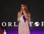 World Top Model 2018: vince Adna Zrno. Conduttrice della serata Miriam Galanti in collaborazione con Luna Voce