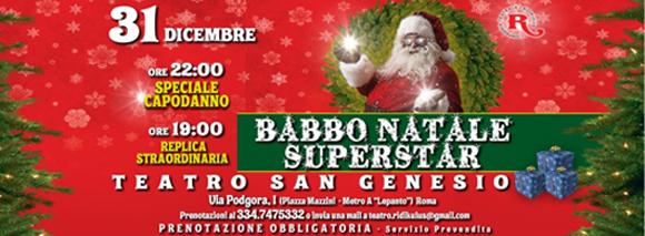 """Torna """"Capodanno per famiglie"""" della Compagnia Teatrale """"I Ridikulus"""" al Teatro San Genesio di Roma"""