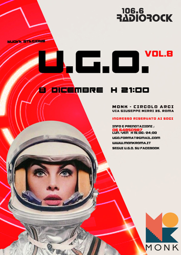 UGO Vol.8 al Monk collettivo di satira al femminile