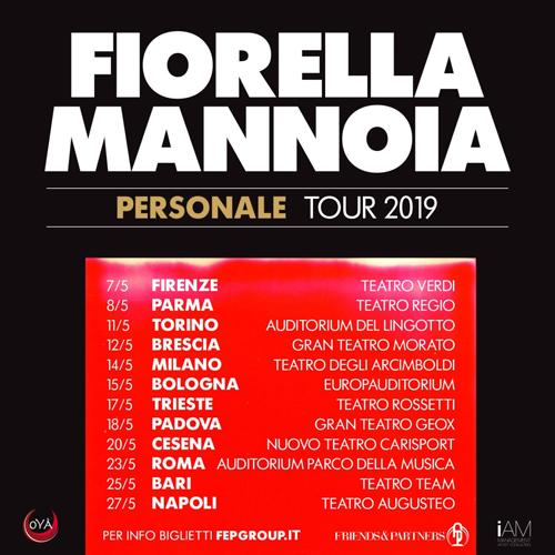 Personale è il titolo del nuovo album di Fiorella Mannoia! Al via le prevendite del Personale Tour
