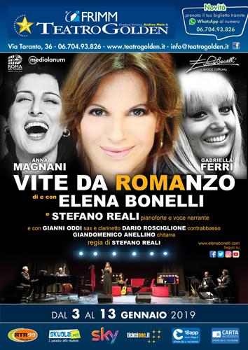 Magnani, Ferri – Vite da Romanzo con Elena Bonelli e Stefano Reali al Teatro Golden di Roma