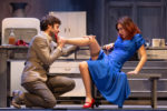 Gabriella Pession e Lino Guanciale in After Miss Julie al Teatro Traiano di Civitavecchia