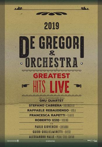 """Francesco De Gregori: si aggiungono due nuovi appuntamenti al tour estivo """"De Gregori & Orchestra – Greatest hits live"""""""
