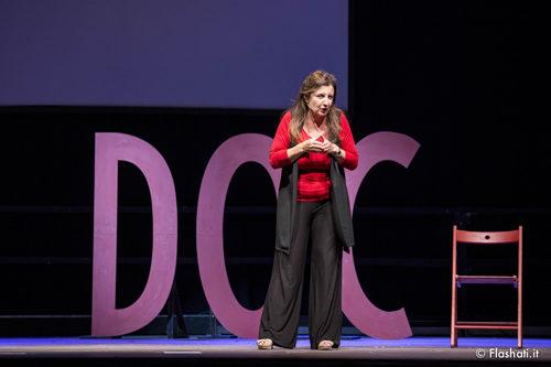 Francesca Reggiani in D.O.C. Donne d'Origine Controllata al Sala Umberto di Roma dall'8 al 13 gennaio 2019