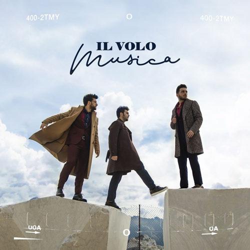 """IL VOLO festeggia 10 ANNI di carriera in gara al 69° Festival di Sanremo, con il brano """"Musica che resta"""""""
