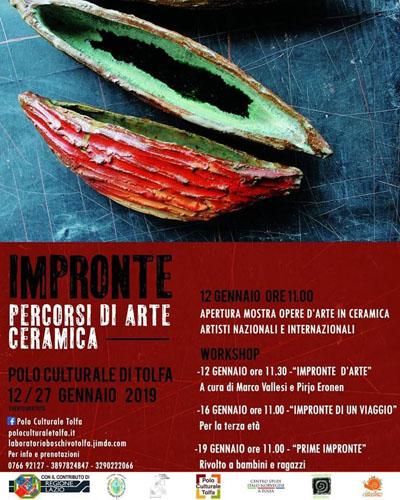 A Tolfa l'Arte ceramica tra Italia e Scandinavia