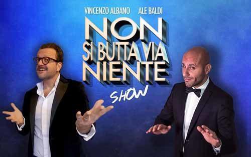 Allo Zelig di Milano Non si butta via niente! Insieme a Vincenzo Albano e Ale Baldi
