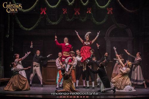 Roberto Ciufoli in A Christmas Carol al Teatro Quirino di Roma