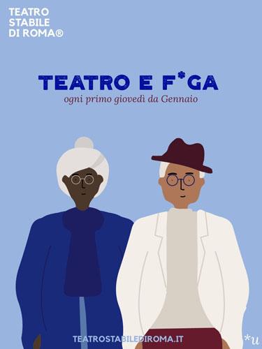 Teatro e f*ga, lo spettacolo al Teatro Keiros di Roma