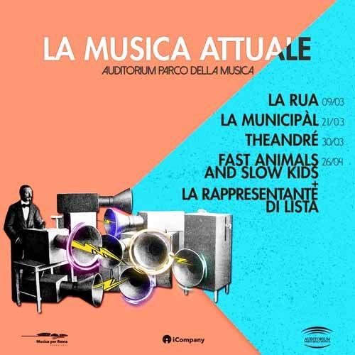 """""""La Musica Attuale"""" a Roma, Auditorium Parco della Musica"""
