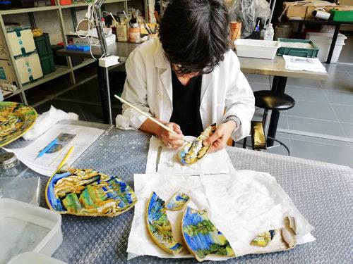 18 maioliche della collezione del Museo Correr di Venezia restaurate al MIC di Faenza