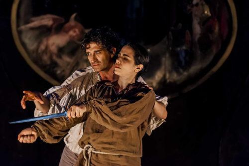 Io, Caravaggio, spettacolo scritto e diretto da Cesare Capitani in scena all'OFF OFF Theatre di Roma