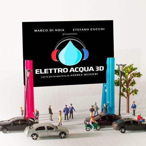 """Marco Di Noia e Stefano Cucchi: il loro """"Elettro Acqua 3D"""", primo app album italiano, riceve il patrocinio di Amref Health Africa"""