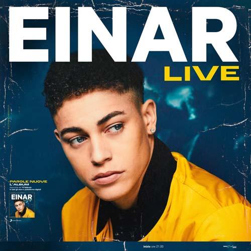 Einar, a maggio il debutto live con due concerti a Roma e Milano. Al via le prevendite su Ticketone