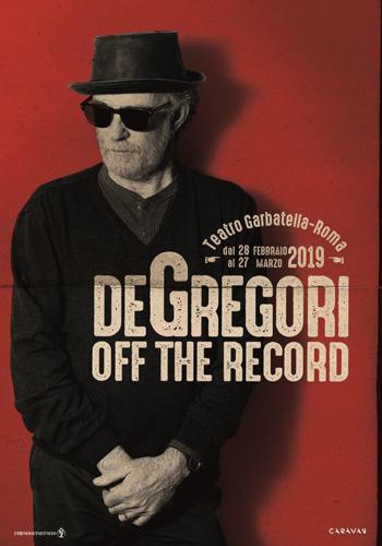 Francesco De Gregori: al via dal Teatro Garbatella di Roma Off The Record