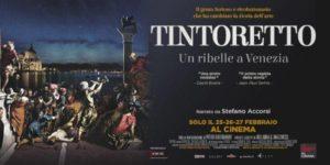 In occasione dell'anniversario dei 500 anni dalla nascita di Tintoretto arriva in anteprima nei cinema italiani Tintoretto. Un ribelle a Venezia