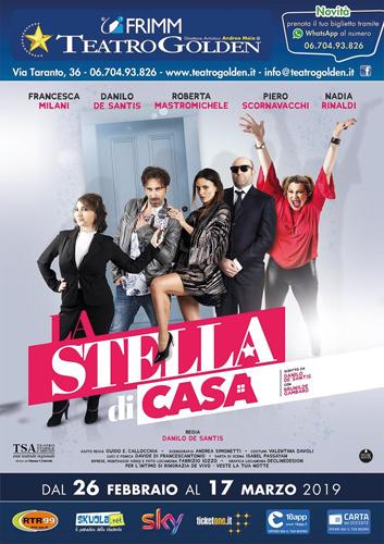 La Stella di casa, la nuova commedia di Danilo De Santis in scena al Teatro Golden di Roma