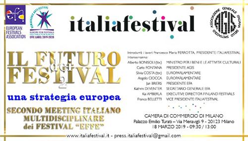 """Secondo meeting italiano multidisciplinare dei Festival """"Effe"""""""