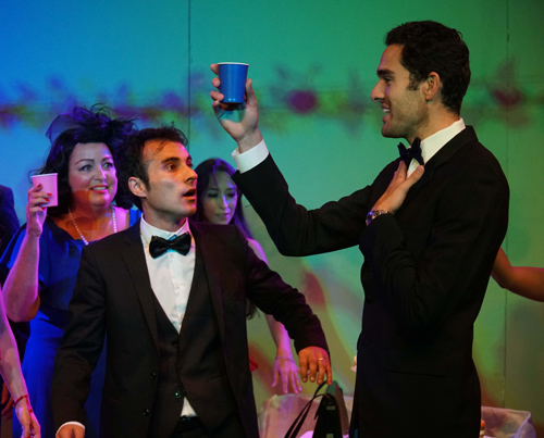 Il napoletano Gianfranco Terrin protagonista a Los Angeles dello spettacolo My Big Gay Italian Wedding