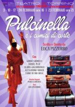 """Al Teatro del Torrino di Roma ritorna, a grande richiesta dal 3 febbraio """"Pulcinella e i comici di corte"""""""