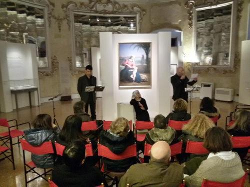 Recital dedicato alla mostra di Hayez e ultimi giorni per le tre mostre