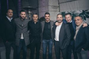 Room26_Marco Cassetti_Simone Perrotta_Max Tonetto_alcuni invitati alla festa di Caruso_ph Giovanna Onofri