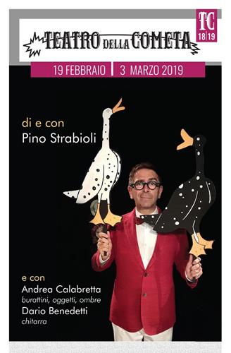 Cavoli a merenda, Pino Strabioli racconta Sergio Tofano al Teatro della Cometa di Roma